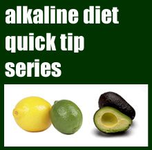 Alkaline Diet Quick Tip #3 Super Fast Alkaline Snack Recipe - Having tasty, filling alkaline snack recipes is a hurdle on the alkaline diet – and I know you guys feel the same, so I am hoping that this tip will help a lot of you out in your quest to reach your health goals.