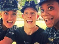 Lt foster, Mason, and Alisha. Behind the scenes season two Marissa Neitling, Chris Sheffield, and Christina Elmore. #thelastship