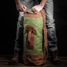 Duffel bag by Kruk Garage