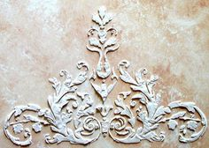 Raised Plaster Laureli Stencil Paint Stencil by ElegantStencils, $28.99