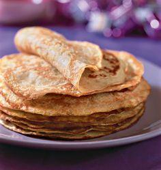 Crêpes aux flocons d'avoine - Recettes de cuisine Ôdélices