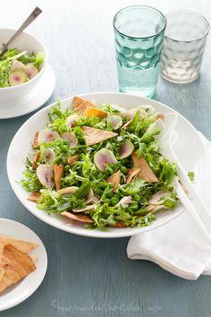 Spring Fattoush Salad #Grain Free