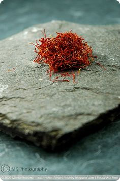 saffron...the magical spice that turns paella yellow