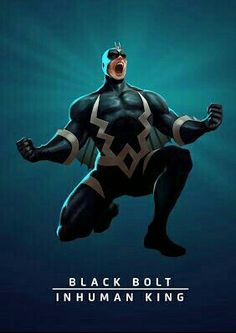 Black bolt the in human being that cant speak without destroying something