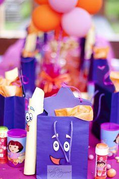 Sally Seymore: Dora the Explorer Birthday Party -