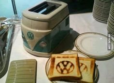 VW Toaster! Shut up and take my money!