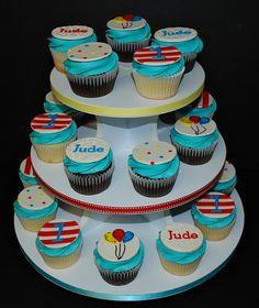 Dr. Seuss Themed Cupcake Tower