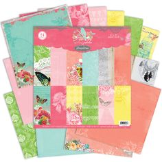 Pink Paislee - Spring Jubilee Collection - 12 x 12 Paper Pack at Scrapbook.com $19.99