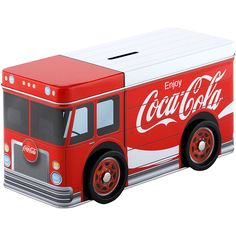 コカ・コーラ トラック型貯金箱