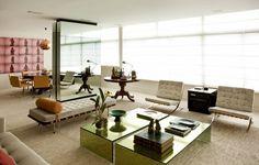 Apartamento com decoração neutra (Foto: Ding Musa/Divulgação)