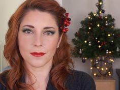 My Makeup for Christmas http://www.face2face-makeup.com/tuto-video-maquillage-aux-couleurs-de-noel/