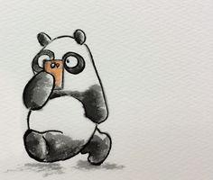 2014.3.5 【一日一パンダ】 歩きスマホ批判が多くなってきたね。 事故もかなり多いみただよ。 このままでは法律で禁止されてしまうね。 #歩きスマホ