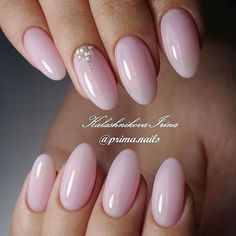 Best Ideas to Make Your Oval Nails Even More Gorgeous - Nails - Trendy Nails, Cute Nails, My Nails, Manicure Nail Designs, Nail Manicure, Nails Design, Design Design, Pink Nail Designs, Shape Design