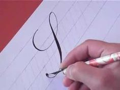 How to Write Copperplate (The Letters S and s) ❤ https://www.youtube.com/watch?v=0vOV_BySr98