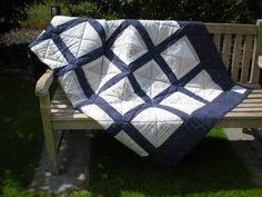 Quilts & Patchwork - *Fernweh* Patchworkdecke/Quilt - ein Designerstück von 19Amanda53 bei DaWanda