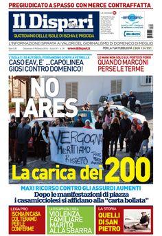 #IlDispari quotidiano - copertina del 9 febbraio 2014