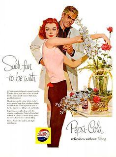 PEPSI ADS (1950s)