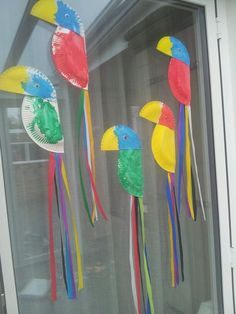 Paper Plate Parrot - Kid Craft | Craft, Activities and School