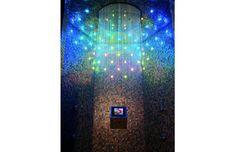 Rapper Drake's sparkling tiled shower #thetileshop
