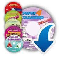 Fonts4teachers DELUXE + 5 more programs