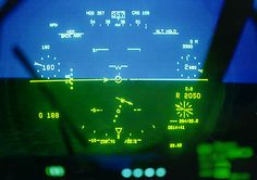 Flight Dynamics Head-up Displays are standard equipment on the C ...