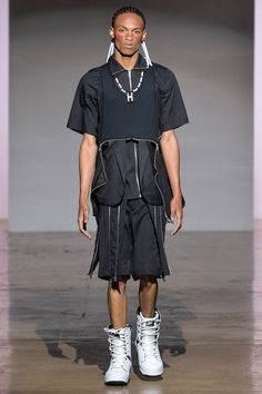 Hood By Air Spring 2014 - I am not totally sure what is going on here, but its pretty cool!