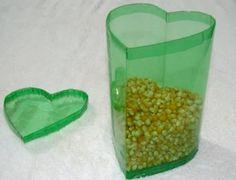 manualidades - botellas de plastico