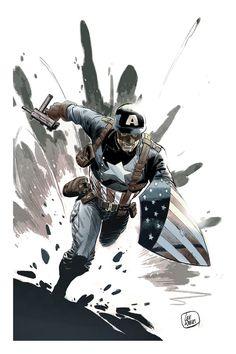 Captain America - Lee Weeks