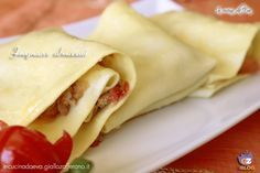 Fregnacce abruzzesi Filled Pasta, Italian Pasta, Sicilian, Italian Recipes, Grande, Dishes, Cooking, Ethnic Recipes, Food