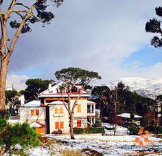 Another beautiful #Lebanese house  و هيدا كمان بيت #لبناني حلو By Z. Bechara #WeAreLebanon #Lebanon