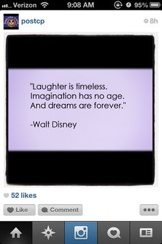 Walt Disney quote - instagram