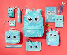 Be prepared for school get these owl sets only at Justice - June 15 2019 at Justice Backpacks, Justice Bags, Shop Justice, Justice School Supplies, Cool School Supplies, Justice Accessories, School Accessories, Cute Backpacks, Girl Backpacks