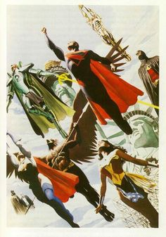 From Alex Ross's Kingdom Come 1996.