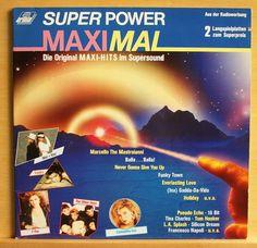 VARIOUS - Super Power Maximal - Double Vinyl LP - near mint - inc. Silicon Dream