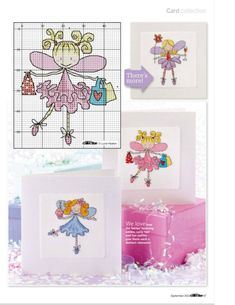 Fairies part 2 free cross stitch patterns