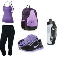 purple workout | Purple Nike Workout | Fitness/ Motivation (: