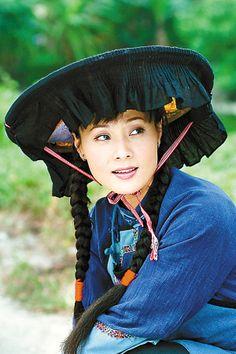 China Guangdong Heyuan Hakka women's clothing--Roc lui