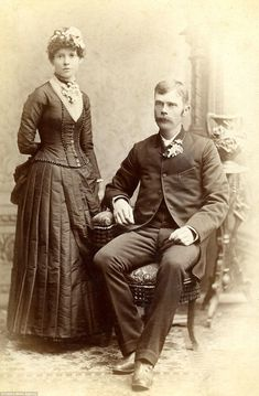 Poker faces abound in Victorian wedding photos currently on display at a New York gallery. The brides, wearing ornate but modest gowns, look stoic at best. Black Wedding Gowns, Modest Wedding Gowns, Vintage Wedding Photos, Vintage Weddings, New York Bride, Victorian Bride, Marriage Couple, Black Bride, Photographs Of People