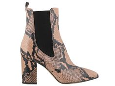 Shop Paris Texas Beatles Ankle Boots and save up to EXPRESS international shipping! Heeled Boots, Shoe Boots, Ankle Boots, Block Heel Boots, Block Heels, Paris Texas, Python Print, Cowgirl Style, Snake Print
