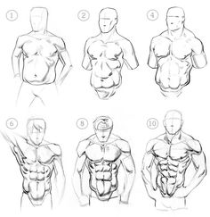 Ab muscle pack variations
