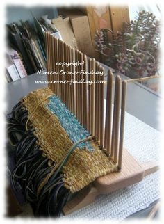 Stick Weaving Loom | copyright Noreen Crone-Findlay http://www.crone-findlay.com