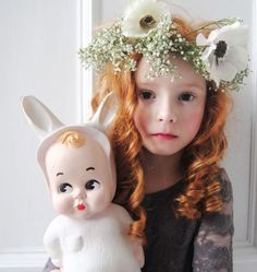 Hvid Baby Lapin lampe fra Lapin and me - Tinga Tango Designbutik