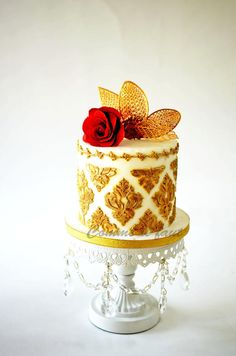 Mini wedding cake - Cake by MILA