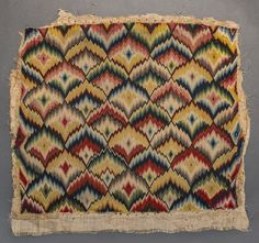 Textiles (Furnishing) - Chair seat cover (Ex-upholstery)  - Search the Collection - Winterthur Museum