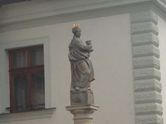 Another saint patron in Kutna Hora.