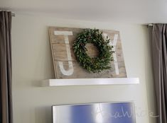 Ana White | Joy Holiday Sign Christmas Wall Art - DIY Projects #DiyChristmasGifts #DiyChristmasDecorations #Christmas #DiyChristmas