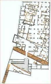 "Image 13 of 16 from gallery of AD Classics: National Museum of Roman Art / Rafael Moneo. Plan of the ""crypt"". Image Courtesy of The National Museum of Roman Art Merida, Art Analysis, Art Essay, Building Layout, Brick Architecture, Plan Drawing, Adaptive Reuse, Roman Art, Design Blog"