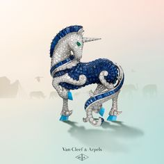 Give your day a fairytale ending! Discover the glittering procession of animals - enchanted and otherwise - that makes up Van Cleef & Arpels' new High Jewelry collection #VCAarchedenoé