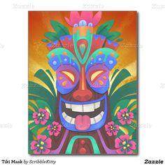 Máscara de Tiki Postal