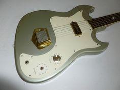 1964 Kay Custom Kraft Electric Guitar RARE CUSTOM COLOR SILVER !!!!!!!!!!!!!